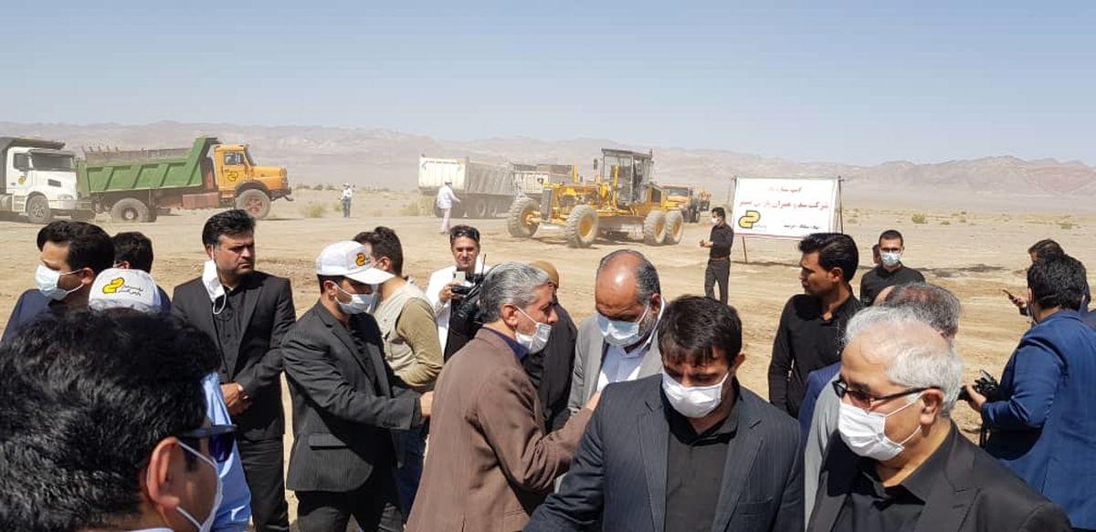 آغاز عملیات ساخت جاده بهاباد به دربند یزد با مشارکت چادرملو