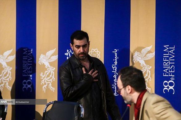 شهاب حسینی سرانجام به جشنواره فجر آمد + عکس