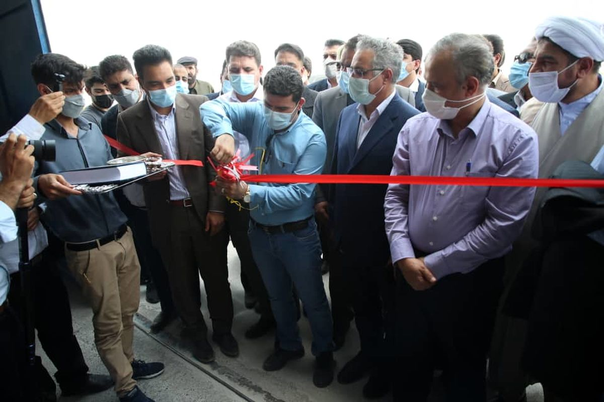افتتاح کارخانه کنسانتره سیلیس و میکرونیزه سیلیس فاریاب