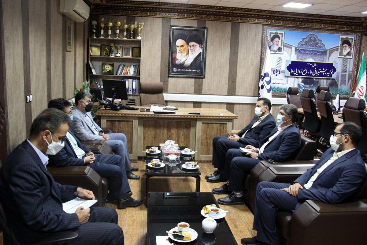 نشست هماهنگی طرح رفاه دانا در استان مرکزی