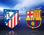 مصدومیت شدید پیکه در بازی با اتلتیکو مادرید + عکس
