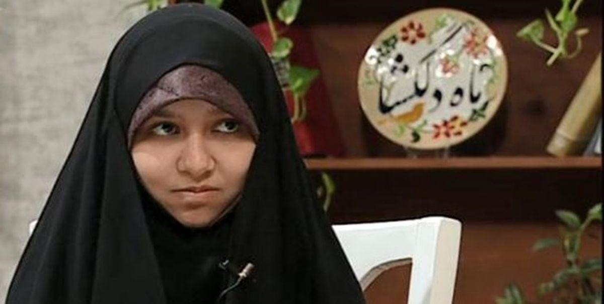 حافظ 15 ساله قرآن رتبه یک کنکور کارشناسی ارشد شد