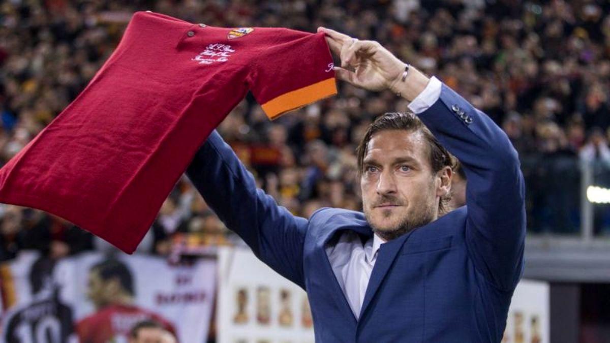 حمله جنجالی توتی به باشگاه آ اس رم!