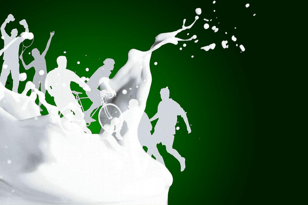 افزایش حجم عضلات را با شیر تجربه کنید