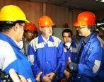 تحسین مدیریت مجتمع فولاد صنعت بناب توسط استاندار برای فعالیت های انجام شده در سال رونق تولید