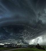طوفان وحشتناک در شمال غرب کشور + فیلم خسارت