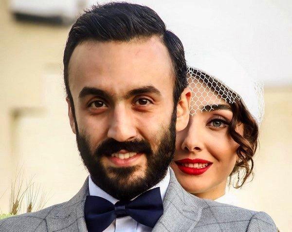 Image result for فاطمه گودرزی و همسرش