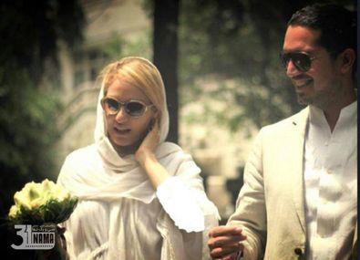 بیوگرافی مهناز افشار و همسرسابقش + عکس مراسم ازدواجشان