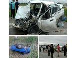 تصادف مرگبار در جاده مرگ ساری