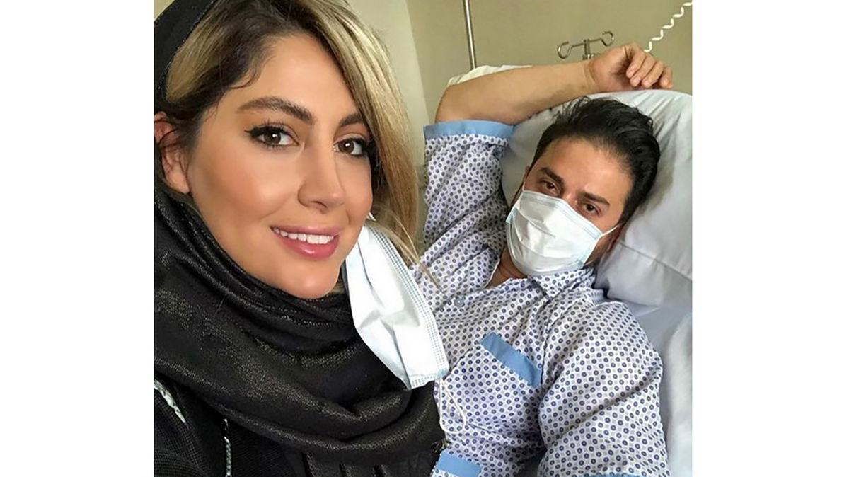 اولین عکس از بابک جهانبخش در لباس بیمارستان + عکس