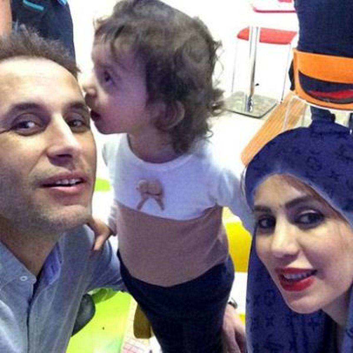 عکس جنجالی و دیده نشده یحیی گل محمدی در آغوش همسرش + بیوگرافی و تصاویر