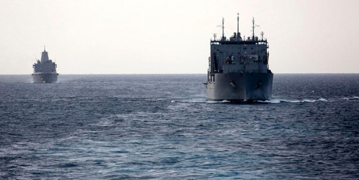 جزئیات ورود یک فروند کشتی جنگی آمریکا به خلیج فارس
