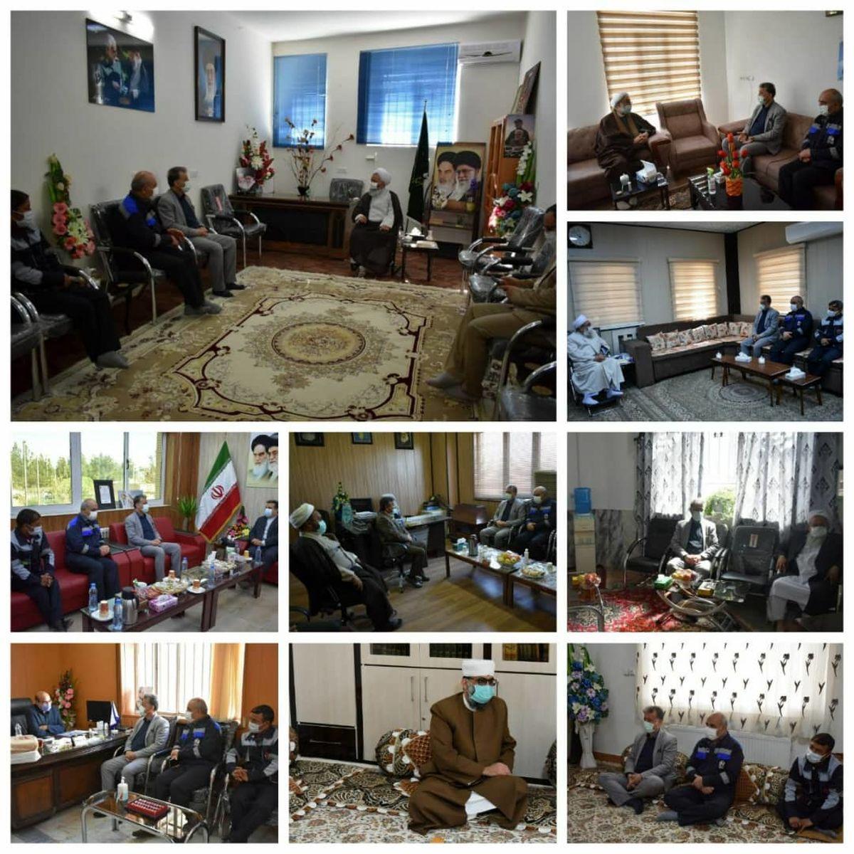 مدیرعامل محترم مجتمع اپال پارسیان به دیدار مسئولین شهرستان خواف رفت