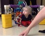 درمان فلج مغزی نوزادان با ربات