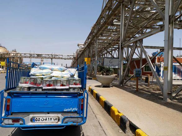ارسال دومین محموله امدادرسانی شرکت پتروشیمی تندگویان به مناطق سیل زده استان خوزستان