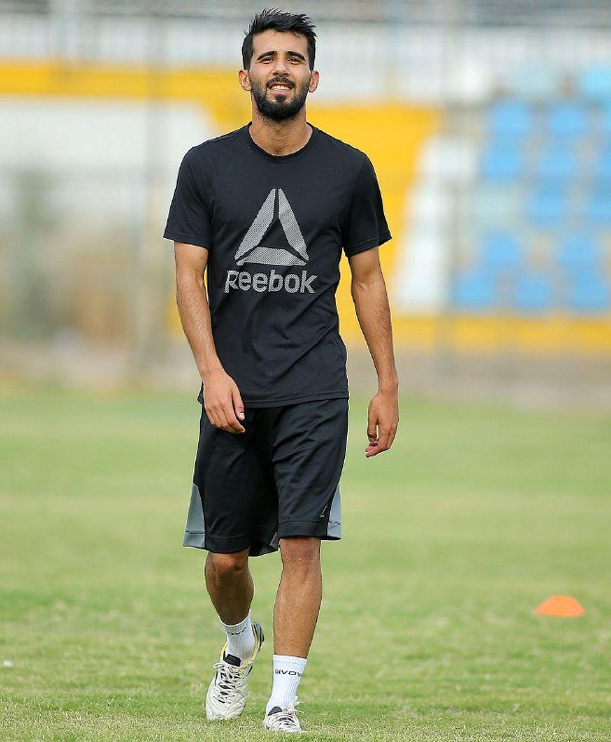 غیبت هافبک تیم پرسپولیس برای تمرین در تیم عراقی+جزئیات