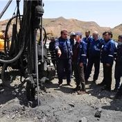 بازدید جناب آقای دکتر همتی مدیر مجتمع سنگ آهن سنگان از معادن