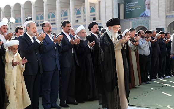 روایت آسوشیتدپرس از نماز جمعه امروز تهران