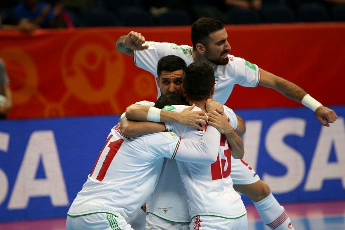 نتیجه مسابقه فوتسال ایران و آمریکا + خلاصه بازی ایران و آمریکا