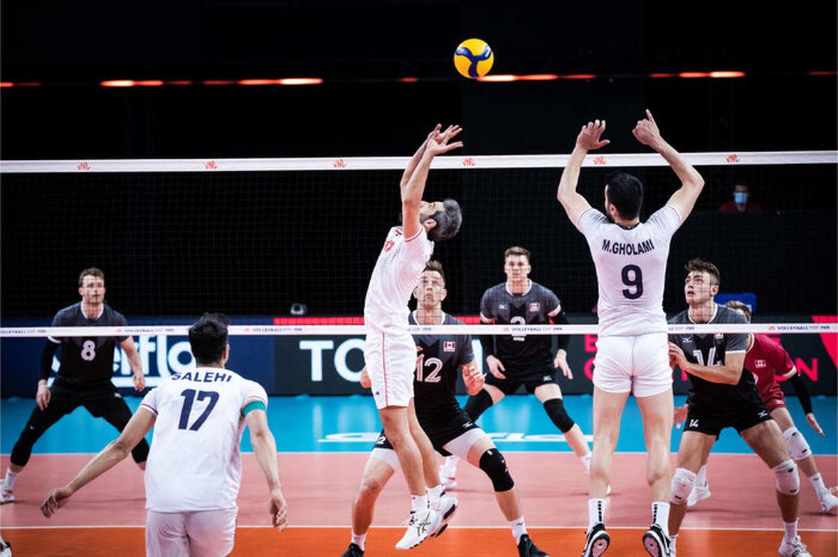 ساعت بازی والیبال ایران – آلمان