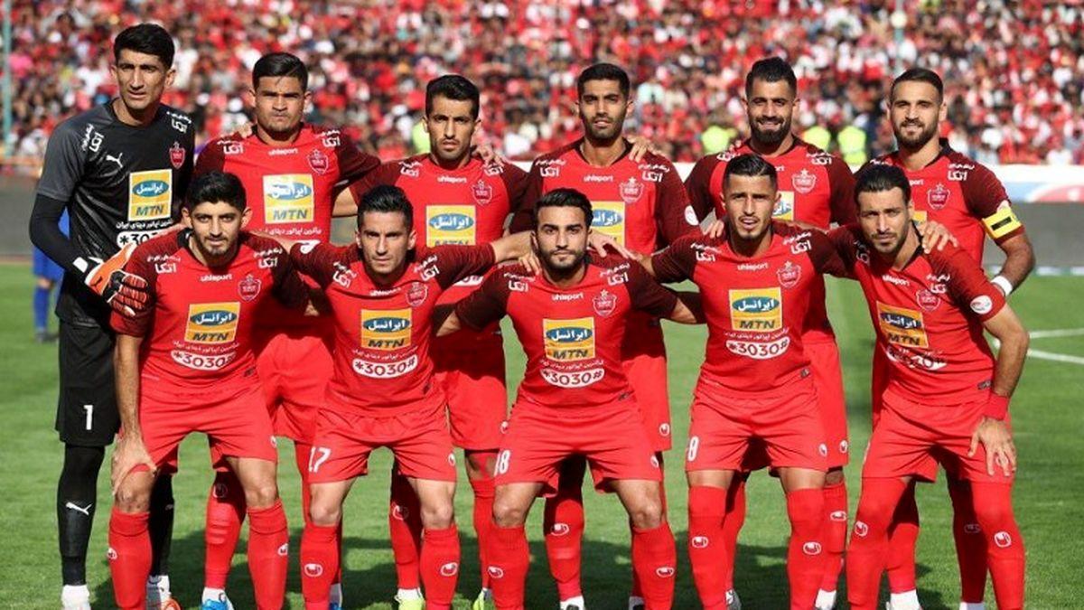 پرسپولیس کم شکست ترین تیم ایران در جام حذفی