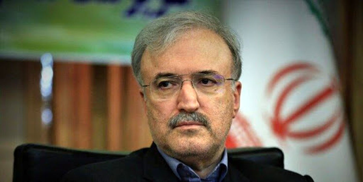صحبت های امروز نمکی درباره ی کرونای انگلیسی در ایران