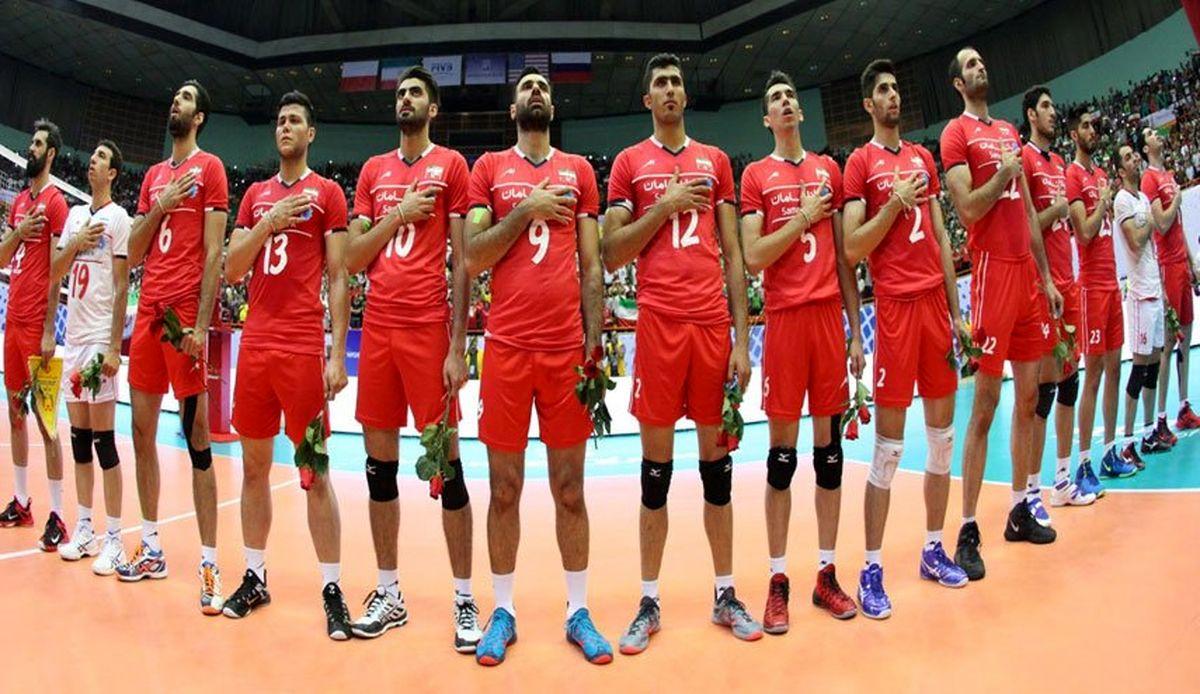 ساعت پخش والیبال ایران مقابل اسلوونی + ترکیب تیم