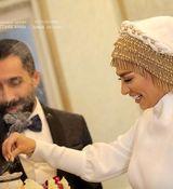 عکس ها وفیلم لو رفته از مراسم ازدواج خانوادگی هادی کاظمی و سمانه پاکدل + بیوگرافی و تصاویر