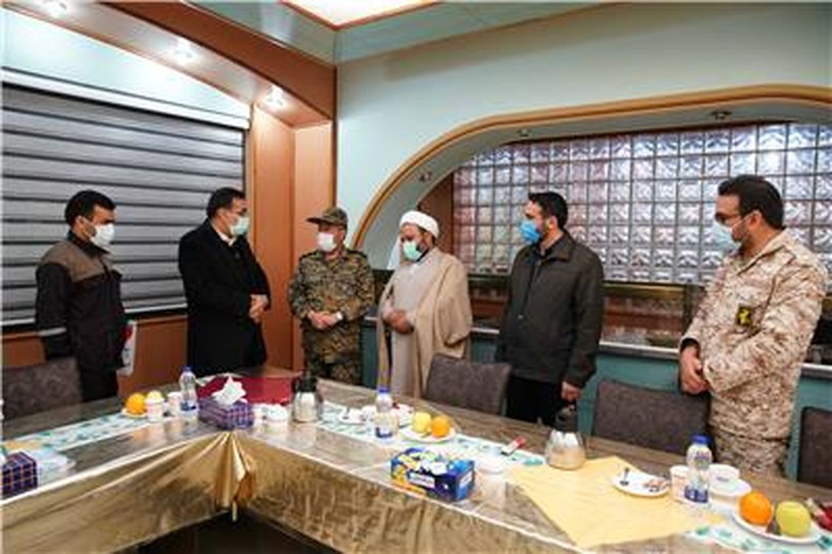 دیدار اعضای شورای تامین شهرستان خواف با مهندس جعفری