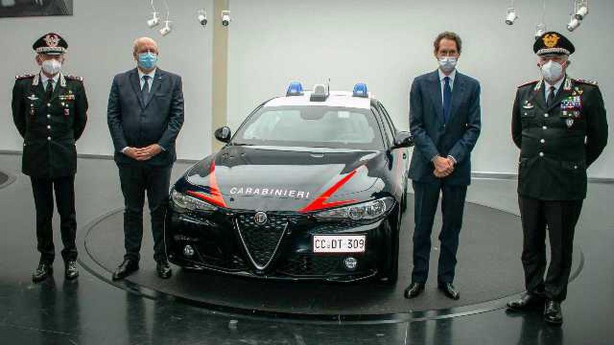 1770 آلفارمئوی ضدگلوله برای پلیس ایتالیا