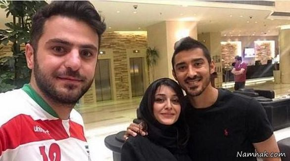 عکس لورفته و جنجالی از ساره بیات در آغوش رضا قوچان نزاد + عکس و بیوگرافی