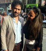 عاشقانه های شهاب حسینی و همسرش جنجالی شد + عکس