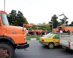 ورود کامیونها به تهران ممنوع شد