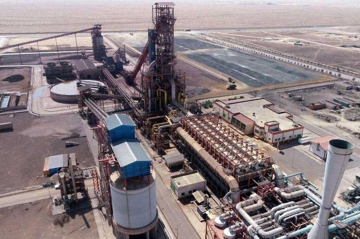 رشد 10 درصدی تولید آهن اسفنجی در شرکت فولاد سفیددشت چهارمحال و بختیاری