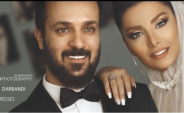 عکس لو رفته از مراسم ازدواج احمد مهران فر و همسرش + فیلم و عکس