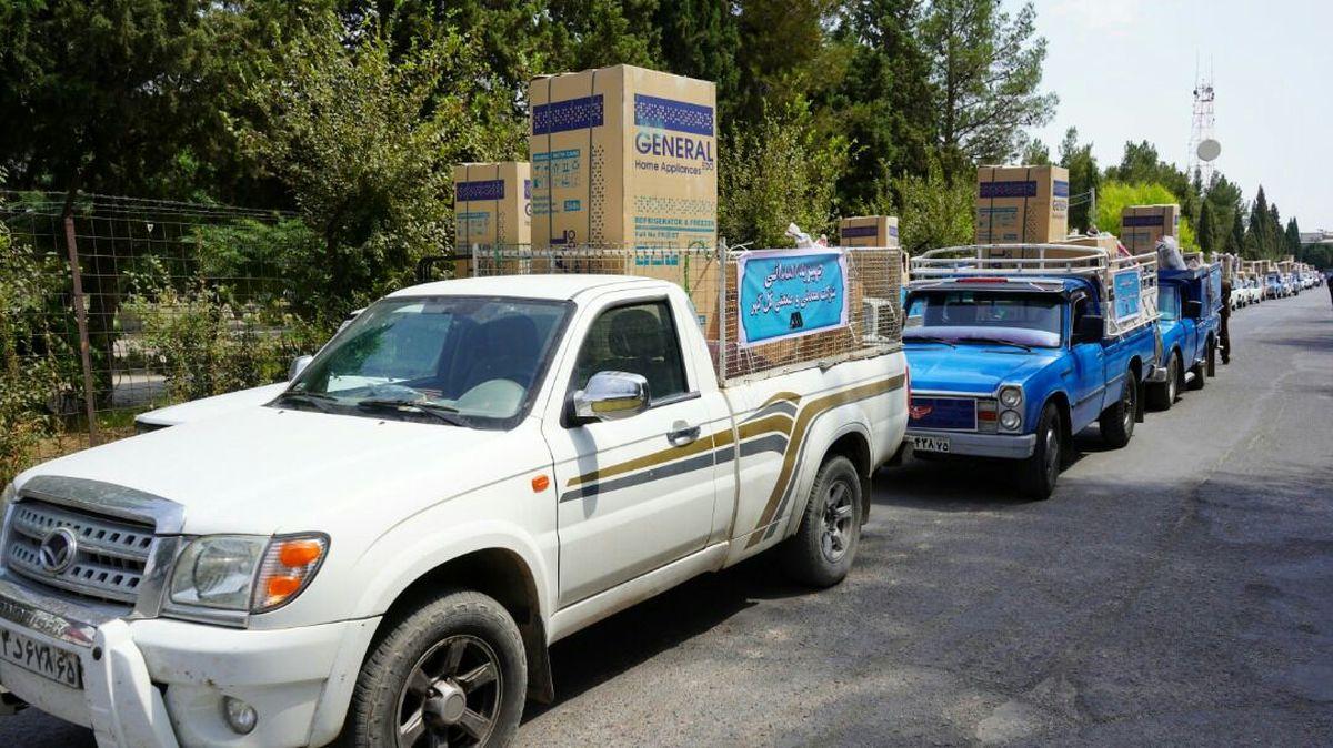 اهدای ۵۰ سری جهیزیه به افراد تحت پوشش کمیته امداد و بهزیستی