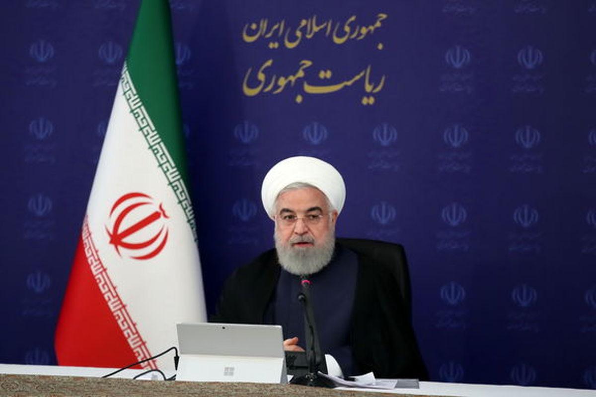 قدردانی روحانی از تلاش کارگران ایرانی