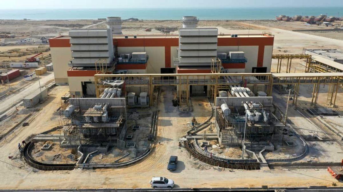 فاز دوم نیروگاه تولید برق 500 مگاواتی قشم افتتاح می شود