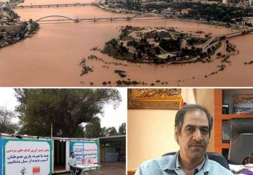 سیل خوزستان برای حمل جادهای و ریلی فولاد خوزستان مشکل زا شد