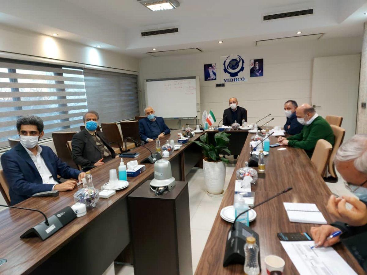 یکصد و چهل و چهارمین جلسه تولید شرکت میدکو برگزار شد