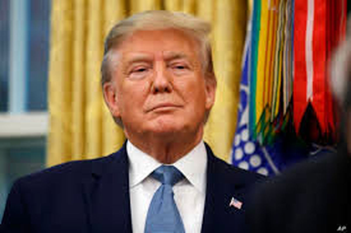 بورس پس از ابتلای ترامپ به کرونا بشدت فروریخت