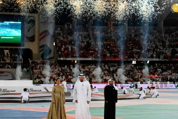 مراسم افتتاحیه جام ملتهای آسیا /تصاویر