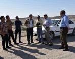 بازدید مدیر مجتمع از عملیات راهسازی جاده چاه گز- بافق
