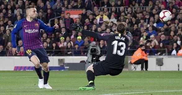 نتیجه بازی بارسلونا و اتلتیکو مادرید + خلاصه بازی