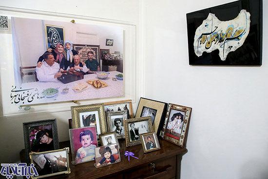 میز خاطرات آیت الله هاشمی رفسنجانی + عکس