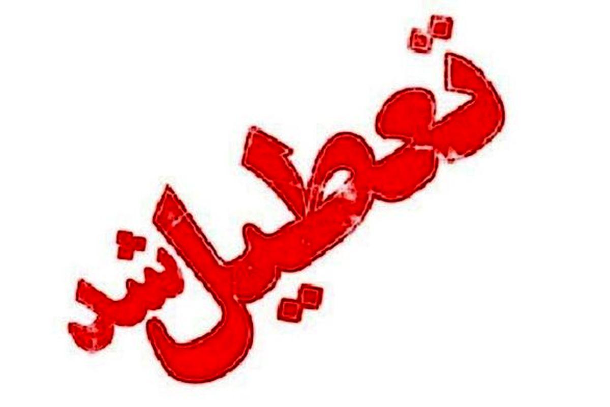 مدارس برخی مناطق استان کرمان فردا یکشنبه 22 دی تعطیل شد