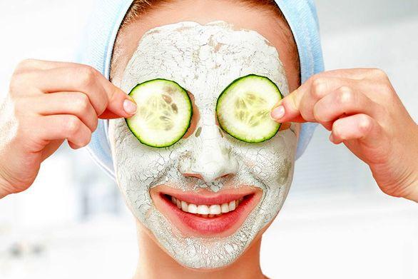 ماسک خیار مناسب برای شادابی پوست