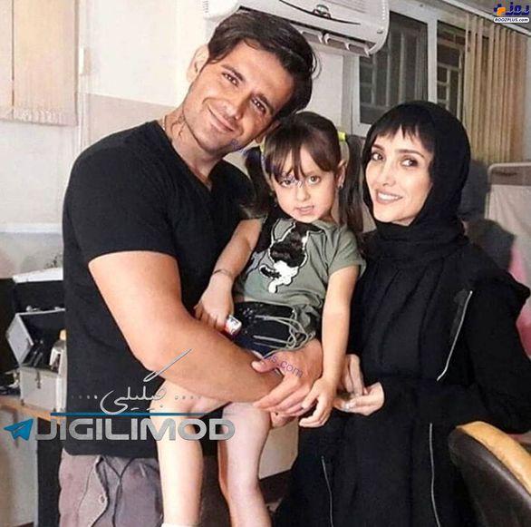 عکس جنجالی امیرحسین آرمان در کنار خانم بازیگر +بیوگرافی و عکس