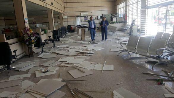 حضور تیم کارشناسی بیمه سرمد در اولین ساعات وقوع زلزله در مسجد سلیمان