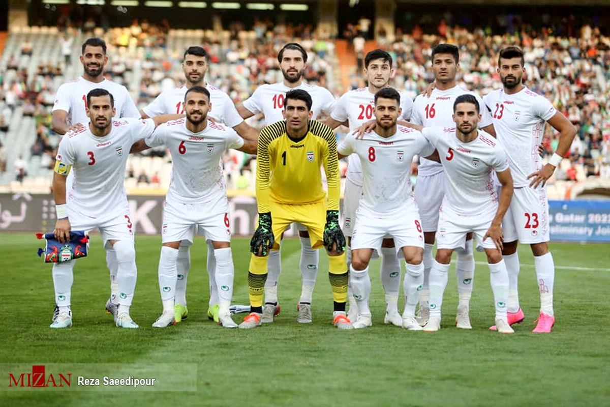 سقوط ۶ پله ای تیم ملی فوتبال ایران در آخرین رده بندی فیفا